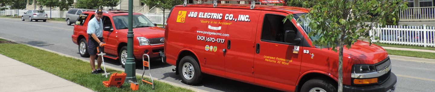 J&G Electric Co., Inc. in Gaithersburg, MD - Quality Is No Accident!