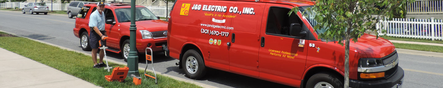 Truck Cable Fault Locator : Residential underground cable fault locating md va dc j g