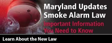 Learn More about the Maryland Smoke Alarm Law