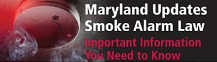 Maryland Law Requires New Smoke Alarms